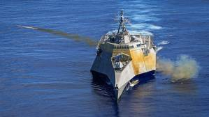 U.S. Navy Independence-class littoral combat ship USS Gabrielle Giffords (LCS-10) (Photo: General Dynamics Mission Systems)