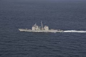 File Image: A U.S. Naval vessel on patrol (CREDIT: U.S. Navy)