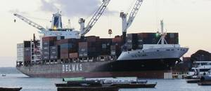 Containership Julie Delmas: Photo courtesy of the owners