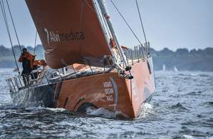 Team Alvimedica. Photo credit by Ricardo Pinto, Volvo Ocean Race
