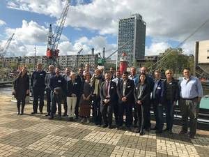 WASP kick-off: From the kick-off meeting of the WASP project in Rotterdam recently. Photo: Nord University