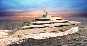 An artists rendering of Golden Yacht Ltds O'Pari3 (Photo courtesy of SAM Electronics)