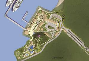 The site plan for Carnivals Amber Cove facility (Photo courtesy of Ambercove.com)