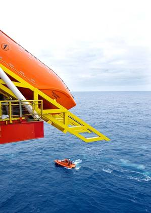 BUKH produces a range of SOLAS engines for lifeboats. (Photo: Norsafe)