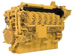 The C280 (Photo courtesy of Caterpillar Marine)