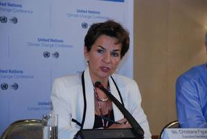 Christiana Figueres, head of the U.N. Climate Change Secretariat (Photo courtesy of the UN)