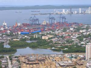 The Port of Cartagena (Photo courtesy of the U.S. Trade and Development Agency)