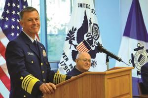U.S. Coast Guard Admiral Paul F. Zukunft