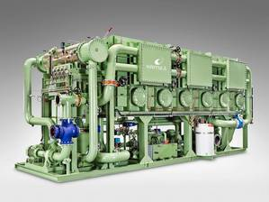 The Wärtsilä Serck Como fresh water generators produce high quality fresh water needed onboard cruise ships (Image: Wärtsilä)
