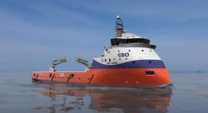 CBO's new PSV of the PX105 design. (Image: ULSTEIN)