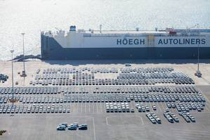 RoRo vessel at Khalifa Port (Photo: Abu Dhabi Ports)