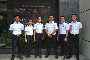Cadets from THOME Groups training program (Photo courtesy of THOME Group)