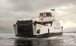 CMALs MV Hallaig is already equipped with Voith Schneider Propellers. (Photo: Voith)