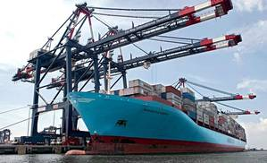 Cai Mep International Terminal (Photo courtesy of Maersk)