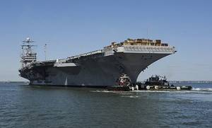 USS Harry S. Truman: Photo credit USN