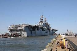 USS Iwo Jima: Photo credit USN