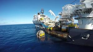 In August 2015, Ardent and Ardentia performed a deep sea oil removal by means of deploying subsea recovery domes and oil receiving tanks operated by remote operated vehicles (ROV) from a diving support vessel. (Photo: Ardent)