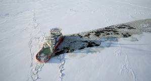 Baltika icebreaking (Photo: Aker Arctic)