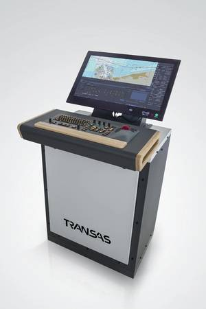 Transas Marines ECDIS Console (Image courtesy of Transas Marine)