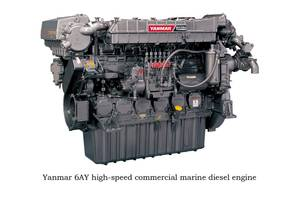 Yanmar high-speed diesel engine