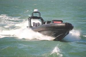 BAE Systems Unmanned RHIB with ASV Technology. (Credit: BAE Systems)