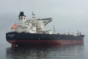 Beothuk Spirit is the first of three new Canadian flagged shuttle tankers built by Samsung Heavy Industries for Teekay Offshore (Photo: Teekay Offshore)