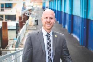 Cameron Clark, Corporate VP, Development and Special Projects, Hornblower (Photo: Hornblower)