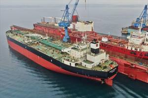 Castor Maritime acquired its first tankers in February 2020. (© Besiktas Shipyard / MarineTraffic.com)