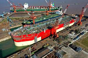 """""""COVID has had no adverse effects on the shipbuilding capability and capacity here in Asia,"""" said Krzysztof Kozdron, Managing Director, Schulte Marine Concept (S.M.C.) Image Courtesy S.M.C"""