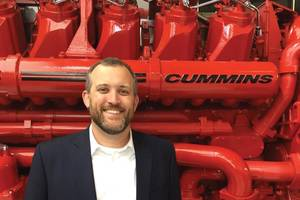 """""""Cummins plans to be a leader in electrified power and we believe this business segment will provide the innovation and focus to ensure future success"""" Eddie Brown, Cummins Marine. Photo: Cummins Marine"""
