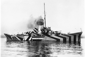 dazzle ship from Imperial War Museum