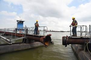 Dredging operations underway in U.S. inland rivers (Source: Port NOLA)