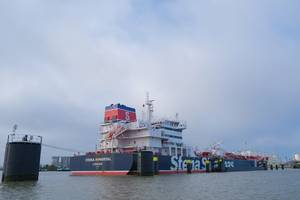 During the coming weeks, MR tanker Stena Immortal will run on 100% biofuel (Photo: Stena Bulk)