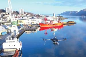 Image: Norwegian Maritime Authority/Nordic Unmanned (drone)