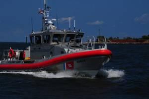 File photo: A Coast Guard Station Grand Isle 45-foot Response Boat - Medium (U.S. Coast Guard photo by Bill Colclough)
