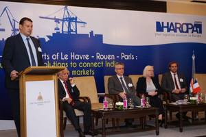 HAROPA is positioned as a major maritime hub in Europe, equipped with a competitive and sustainable logistics system. Photo HAROPA