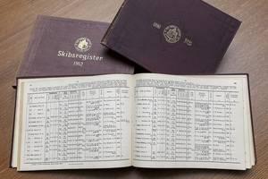 Historic ship registers. (Photo courtesy DNV GL)