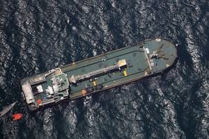 In March 2017 fuel tanker Aris 13 was attacked by armed pirates off the coast of Somalia (Photo: EU NAVFOR)