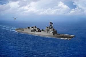 Fincantieri Marinette Marine is building the U.S. Navy's Constellation class frigates (Image: U.S. Navy)
