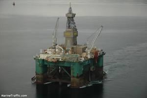 Leiv Eiriksson drilling rig - Credit: MarineTraffic
