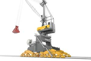 LPS 420 E is the latest extension of the Liebherr mobile harbour crane Photo  Liebherr