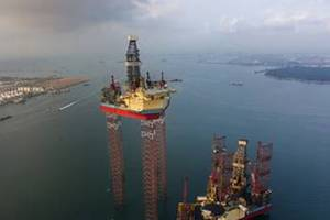 Maersk Intrepid was delivered by Keppel in Q1 2014 (Photo courtesy Maersk)