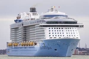Ovation of the Seas (File photo: Royal Caribbean)