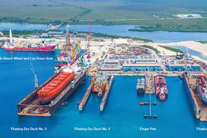 Photo courtesy of Grand Bahama Shipyard
