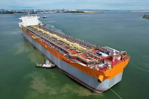 Prosperity FPSO Hull - Credit: SBM Offshore