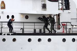 ReCAAP ISC has reported a total of eight incidents of piracy and armed robbery against ships in south-east Asia during August 2019. (Photo © Adobe Stock / VanderWolf Images)