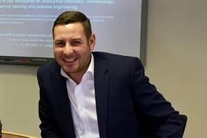 Clarke Shepherd, global business development director at Oil Plus. Photo courtesy Oil Plus