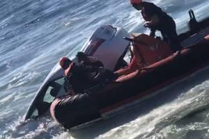 (Screenshot from U.S. Coast Guard video courtesy of Coast Guard Cutter Marlin)