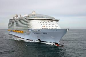 Symphony of the Seas, built by STX France for Royal Caribbean, has taken over as world's largest cruise ship (Photo: Royal Caribbean)