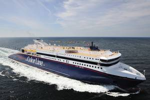 The first ferry to be retrofitted is the Color Line Super Speed 2, which will be carried out in April this year.